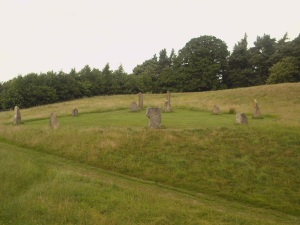 Contemporary stone circle