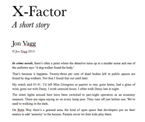 Link to 'X-factor' story